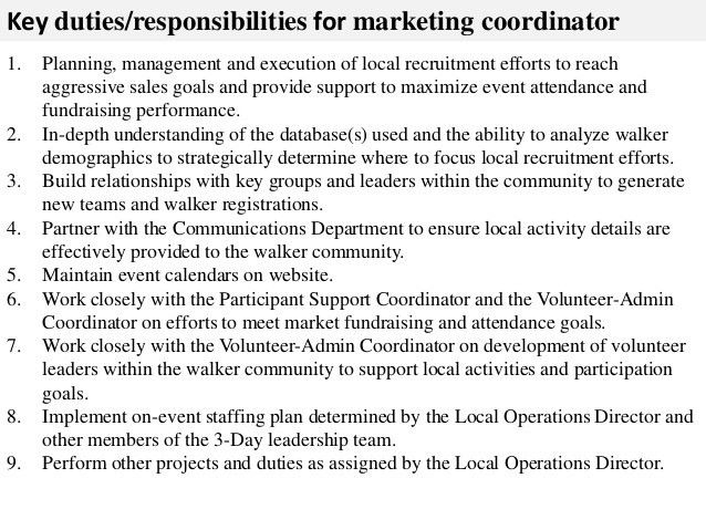 Duties Of Event Coordinator Chapter 2 The Event Manager And Its - event planner job description