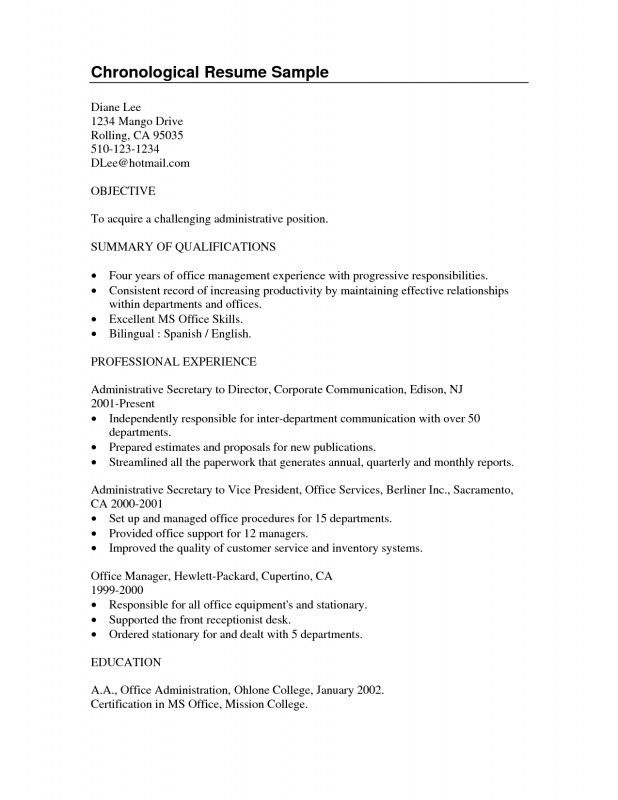 Resume Summary Or Objective Download Objective Summary For Resume - professional summary for cv