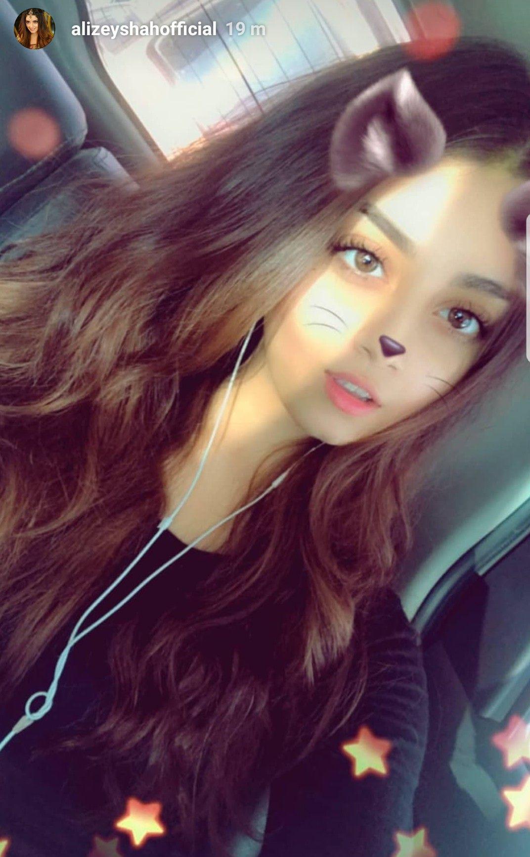 Cat Filter Alizeh Cute Girl Photo Poses