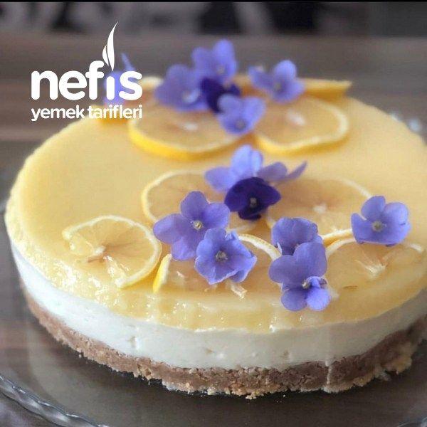 Limonlu Cheesecake - Nefis Yemek Tarifleri - #6879766