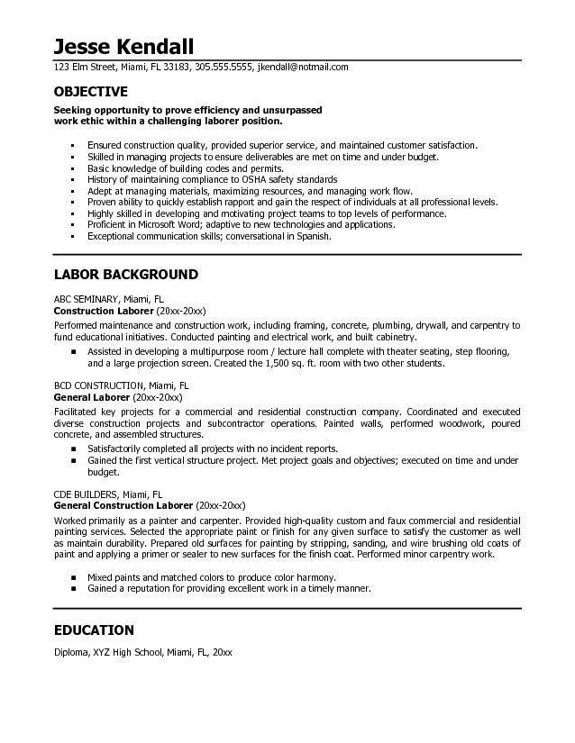 resume for babysitter samples