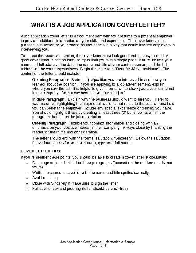 good cover letter tips 7 8 impressive formsresume - Should I Include A Cover Letter