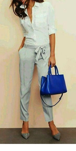 Nice blue bag in this combo