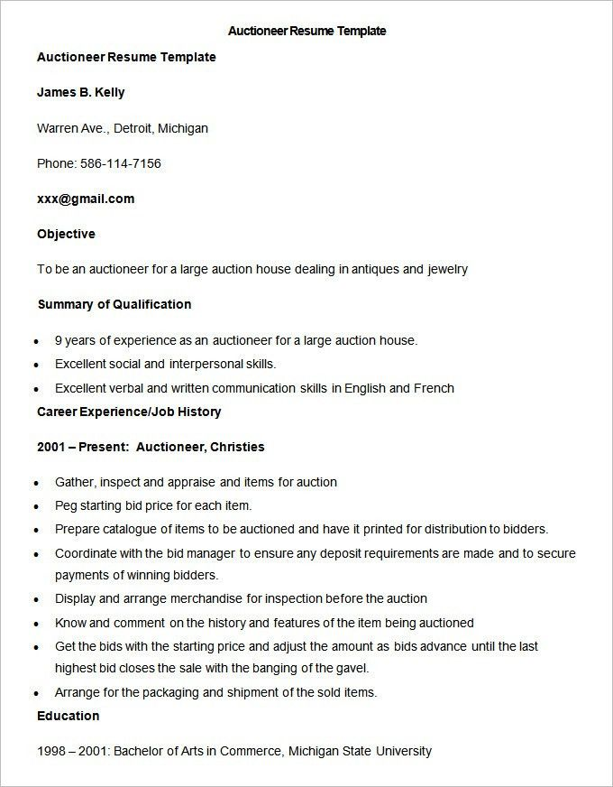 Bid Manager Resume - Resume Ideas