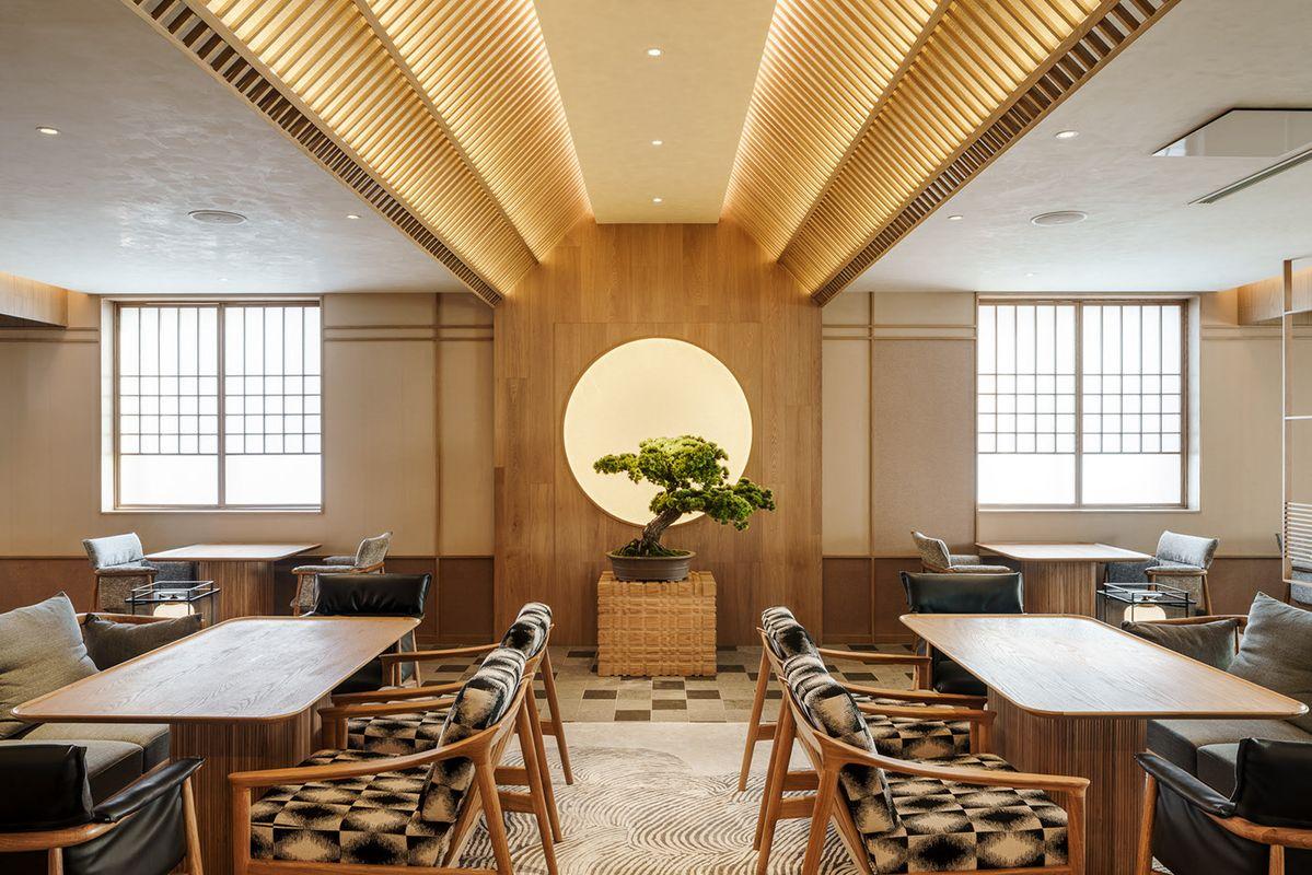 Wabi-sabi inspired Japanese interior by Red Design