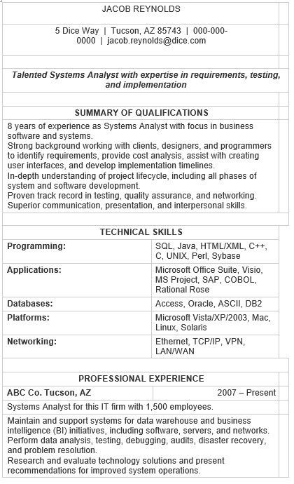 research analyst sample resume \u2013 resume ideas pro