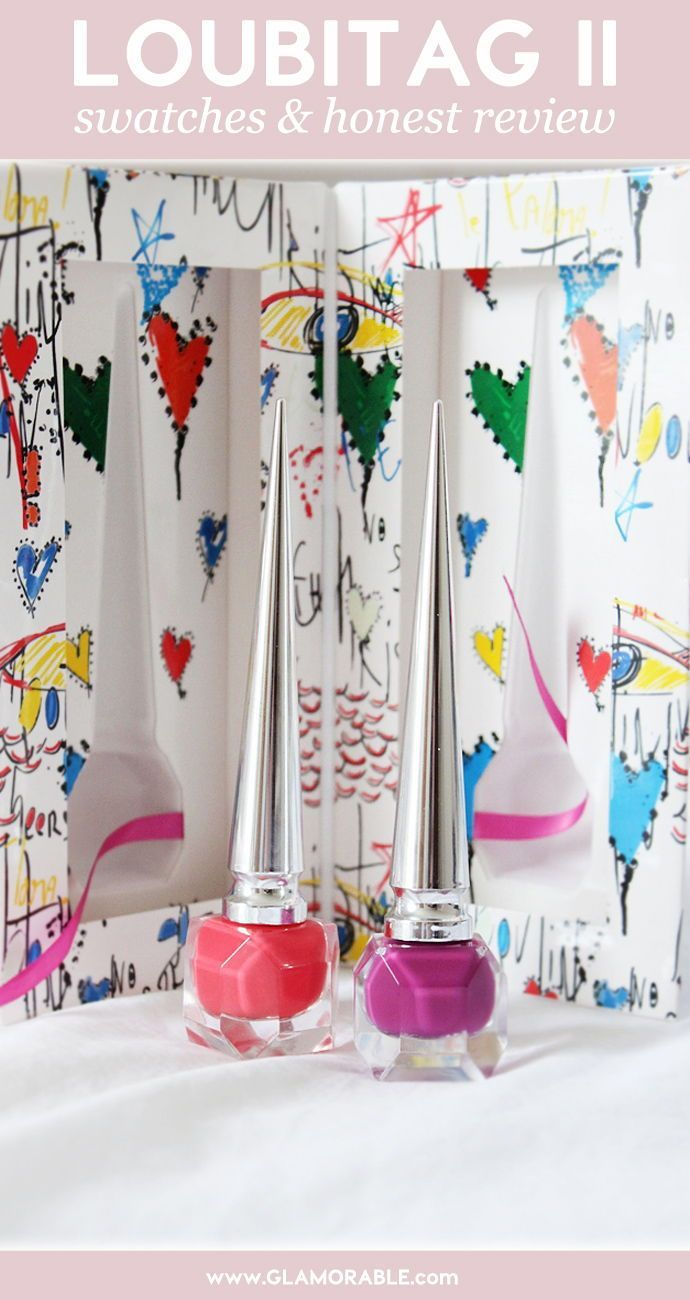 Christian Louboutin Loubitag II Nail Polish Duo – are these polishes worth the splurge? #nailpolish #nails #louboutin #loubitag #nailblogger #nailblog #beauty #bblogger