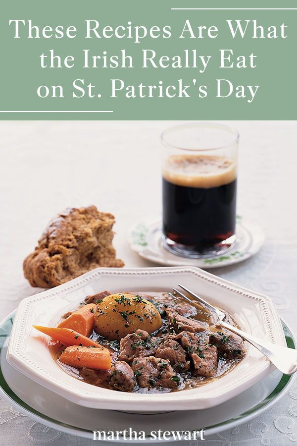 No Corned Beef and Cabbage Here! This Is What the Irish Really Eat on St. Patrick's Day