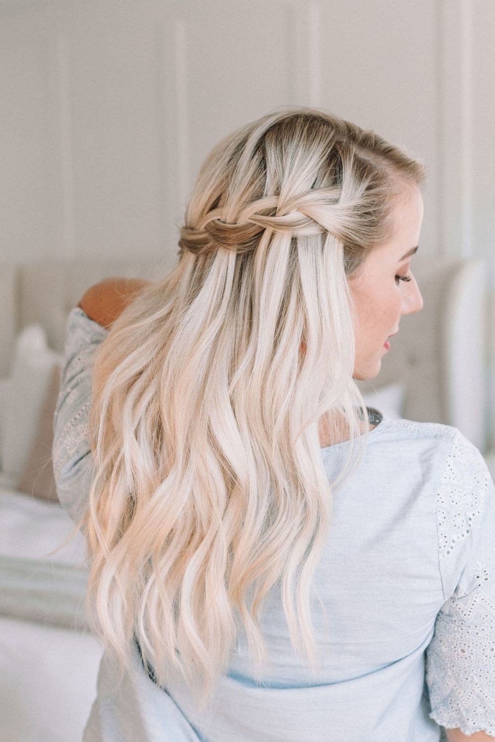 Learn How To Waterfall Braid! – Twist Me Pretty