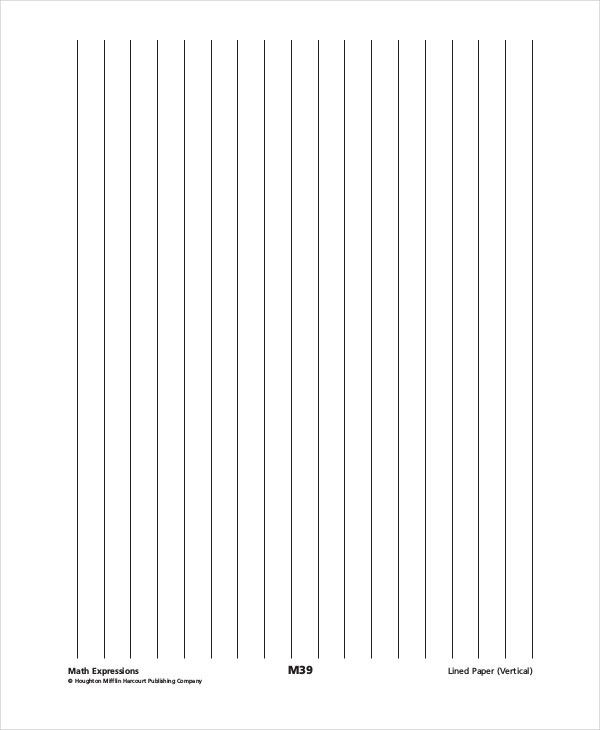 Vertical Lined Paper Lined Paper 10 Free Word Pdf Psd Documents - lined paper pdf