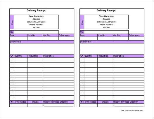 delivery confirmation form template node2002-cvresumepaasprovider