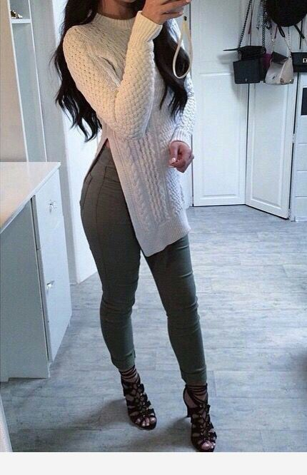 Pants and blouse