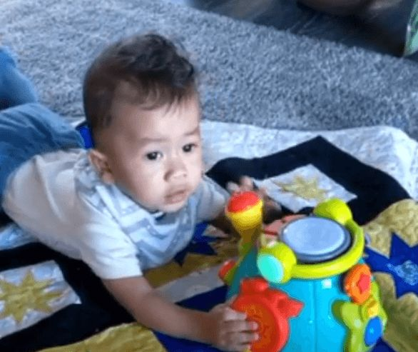 """Chrissy Teigen Shares Adorable Video Of Miles Singing """"Wheels on the Bus"""""""