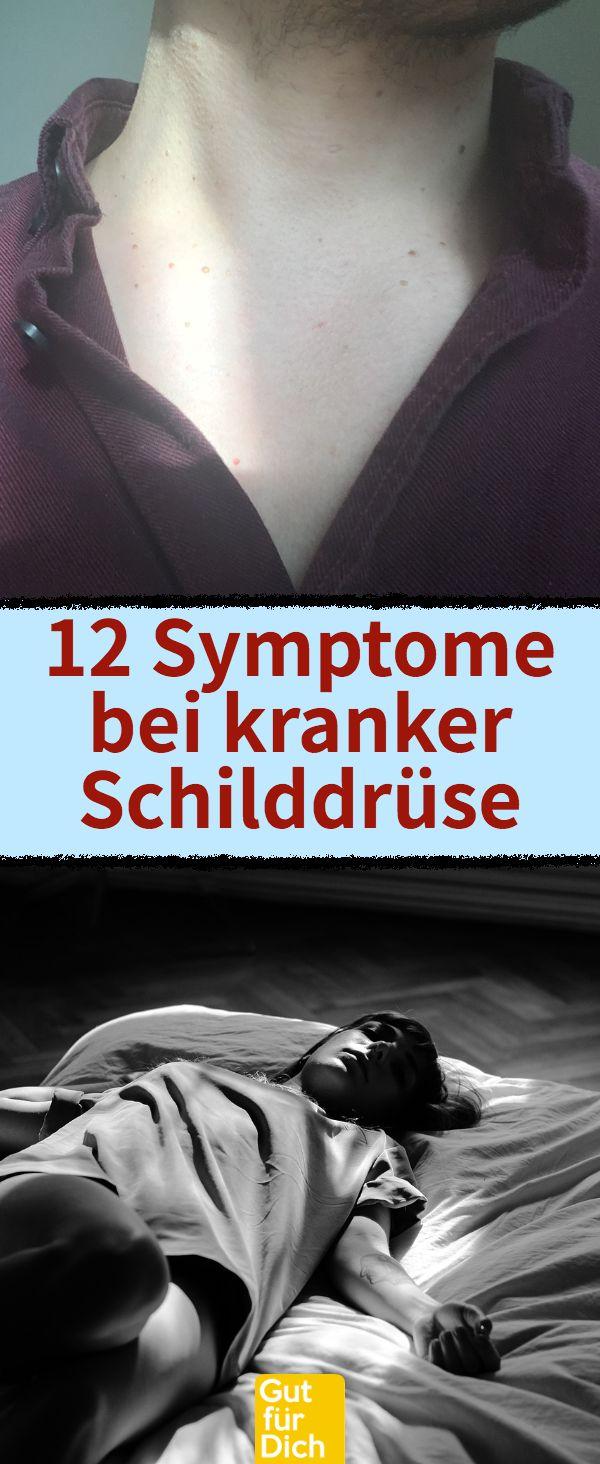 Gefährlich: 12 Symptome bei kranker Schilddrüse. Kaum einer weiß es. Diese 12 Anzeichen deuten auf Schilddrüsenunterfunktion u.ä. hin. #schilddrüse #schilddrüsenunterfunktion #schilddrüsenüberfunktion #müdgkeit #gesundheit