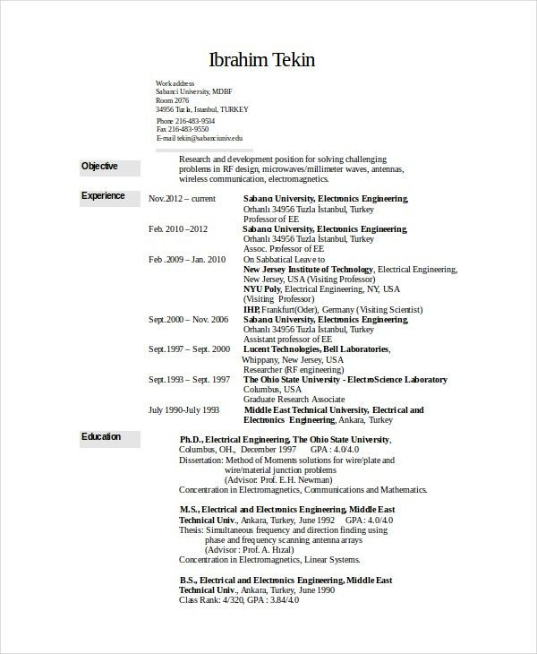 best rf engineering resume photos resume samples writing rf engineer resume sample - Rf Systems Engineer Sample Resume