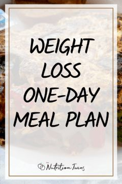 Your Weight Loss One-Day Meal Plan. This 1200 calorie diet plan helps you with menu planning so you can lose weight on your flat belly diet plan and your hard work from your flat belly workout plan shows! #flatbelly #mealprep #mealplanning For MORE RECIPES, fitness & nutrition tips please SIGN UP for our FREE NEWSLETTER www.NutritionTwins.com