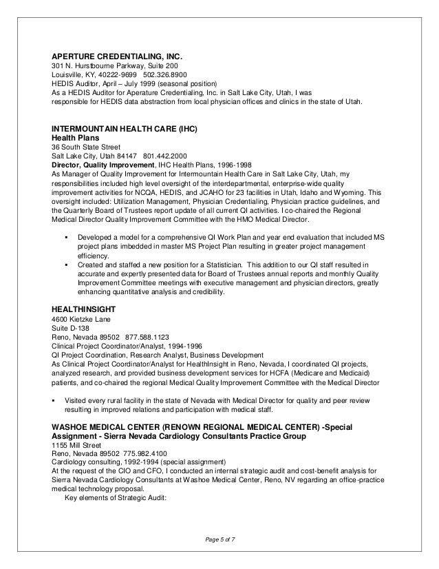 medicare auditor sample resume env 1198748 resumecloud - Clinical Auditor Sample Resume