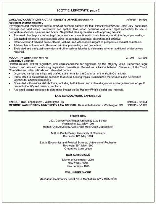 Law School Resume Samples Law School Resume Template Attorney - law school application resume sample