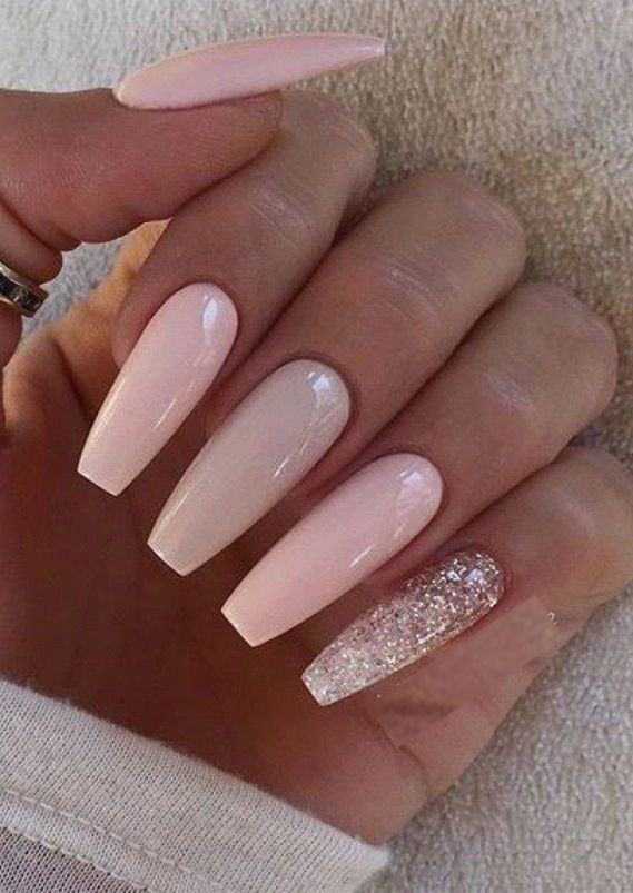 Stunning Long Nail Arts & Designs for Girls in 2019