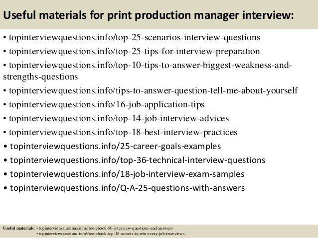 ... Print Production Manager Job Description Print Production Manager   Production  Director Job Description ...
