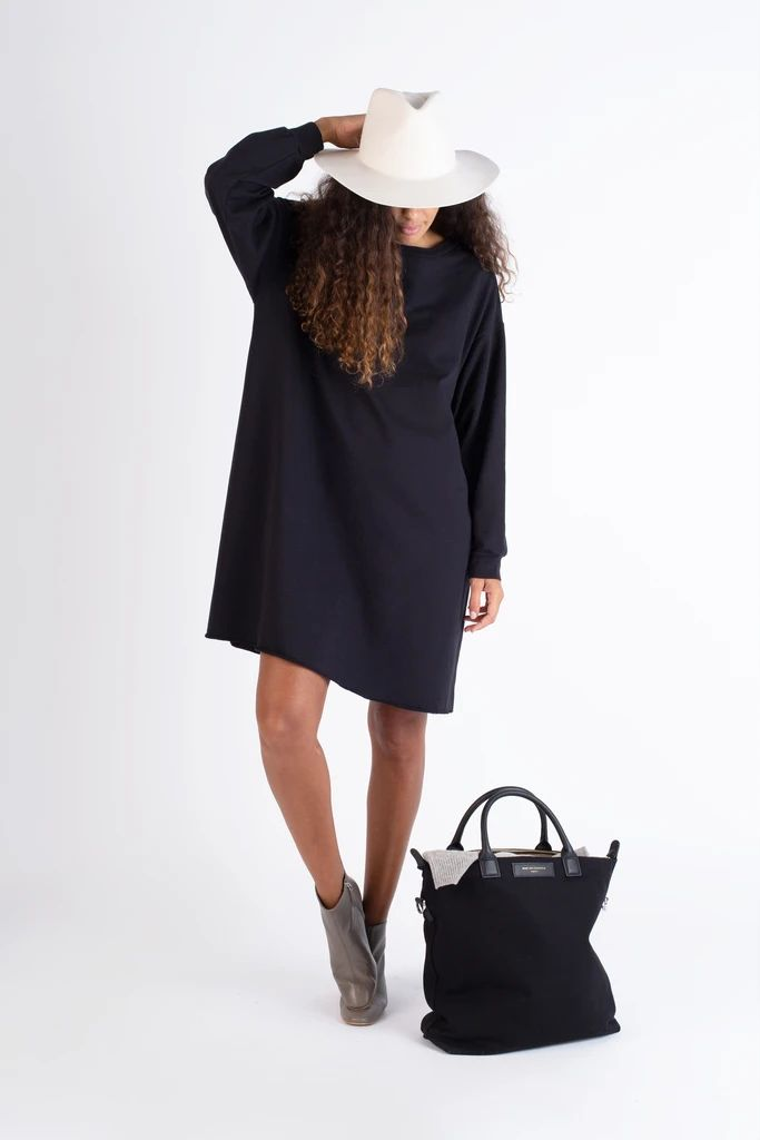 French Terry Crewneck Dress – Go Gently Nation