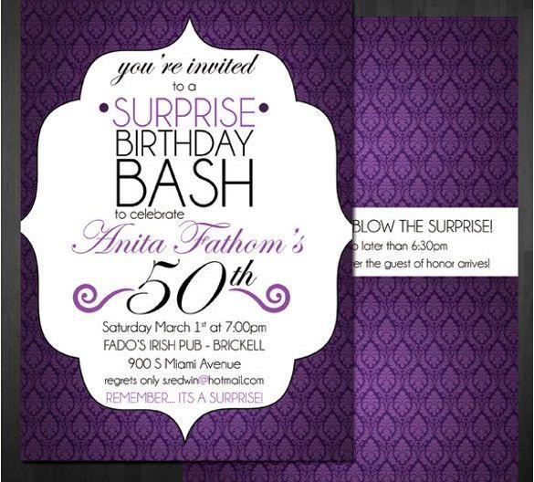 18 Birthday Invitation Templates 18th Birthday Party Invitation - free 18th birthday invitation templates