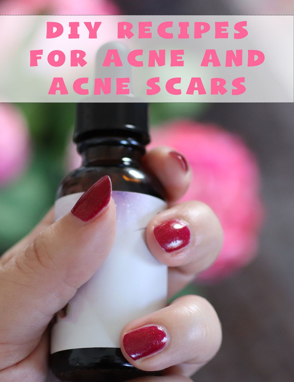 AD The best cruelty free DIY essential oils recipes for acne and acne scars using Aura Cacia products from iHerb by popular beauty blogger, My Beauty Bunny!