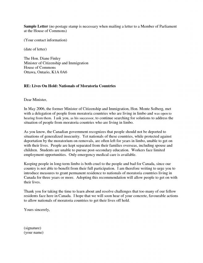Letter Of Immigration 5 Immigration Reference Letter Templates - delegation letter