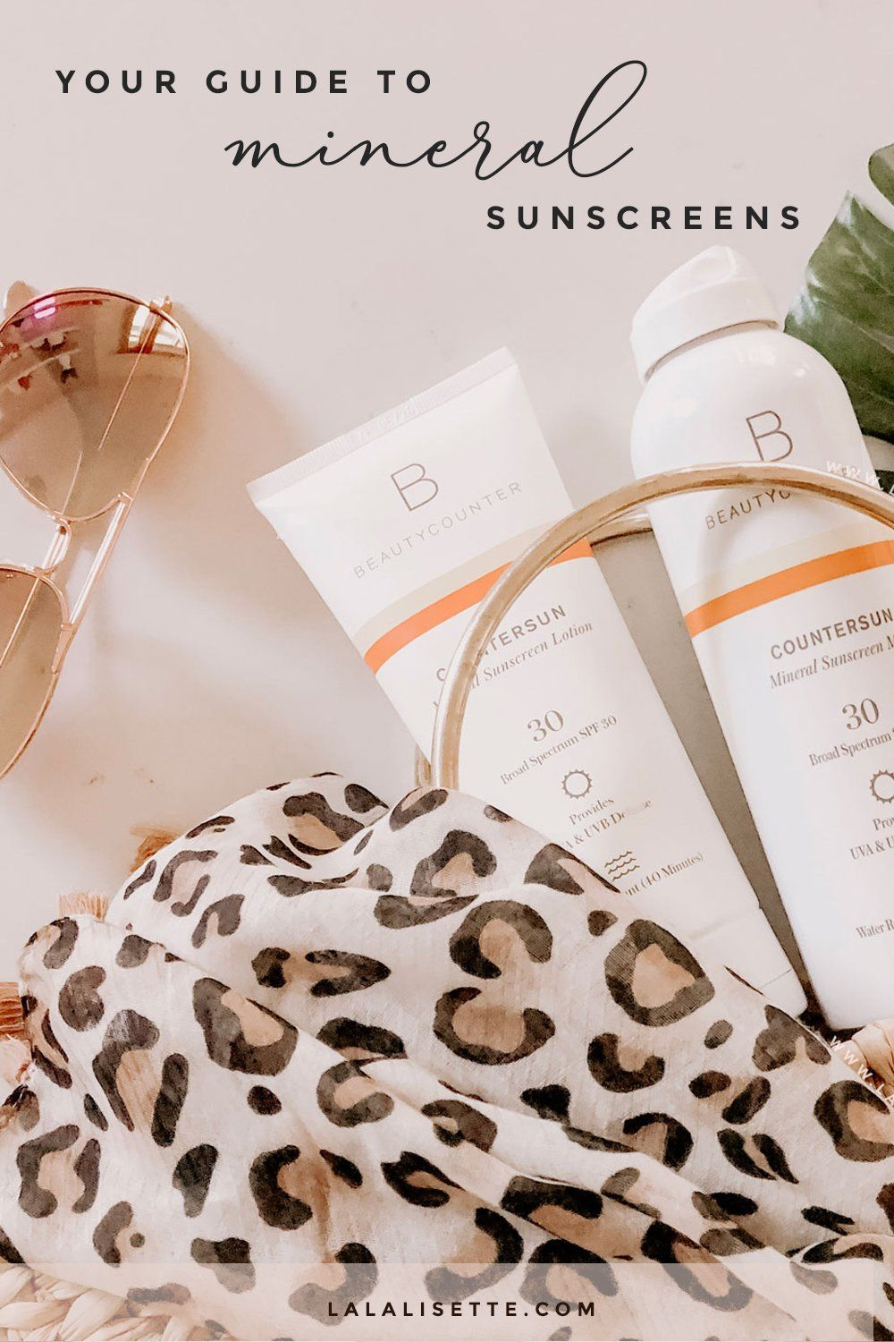 The importance of mineral sunscreen, especially those made from non-nano zinc oxide, and why it's a safer sunscreen for your health and that of the environment. #sunscreen #mineralsunscreen #nontoxicsunscreen #saferbeauty #betterbeauty