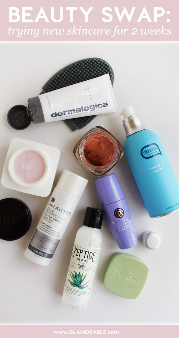 Beauty Swap #1: Brief Intro to New Blog Series and First Skincare Shake-up – @Glamorable #skincare #beauty