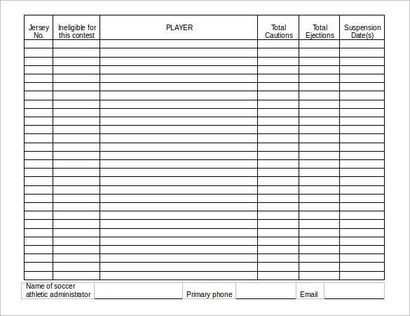 on call roster template