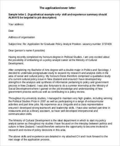 cover letter example nz