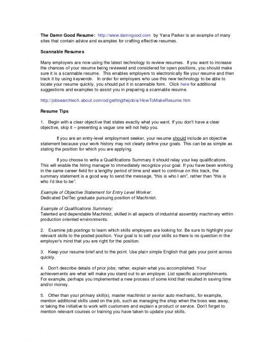 what is a summary on a resumes