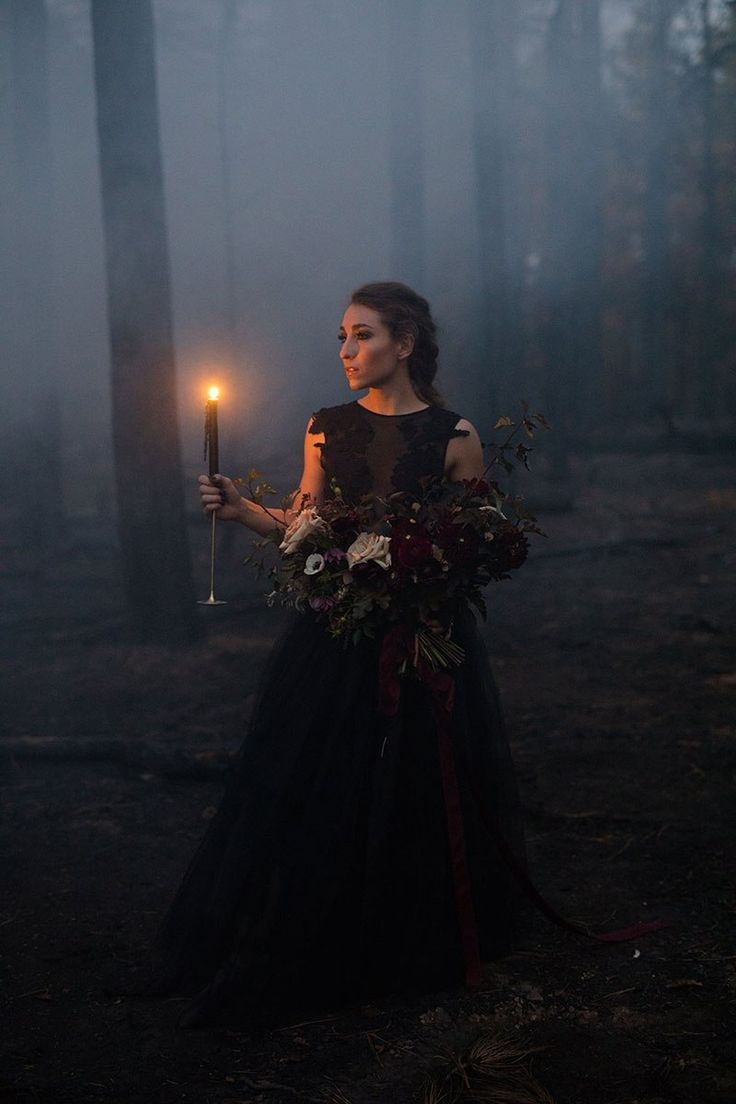 Goth wedding inspiration