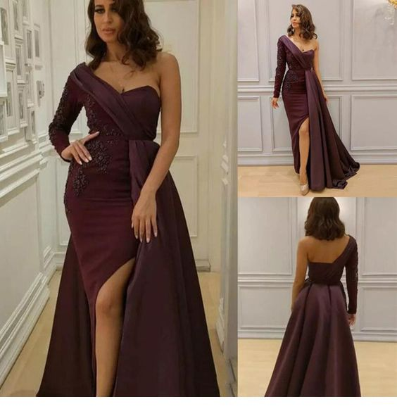 Awesome long brown dress style