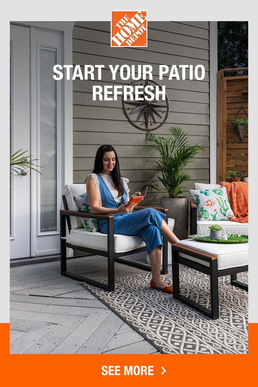 From start to finish, The Home Depot has everything to make creating your perfect patio easy.