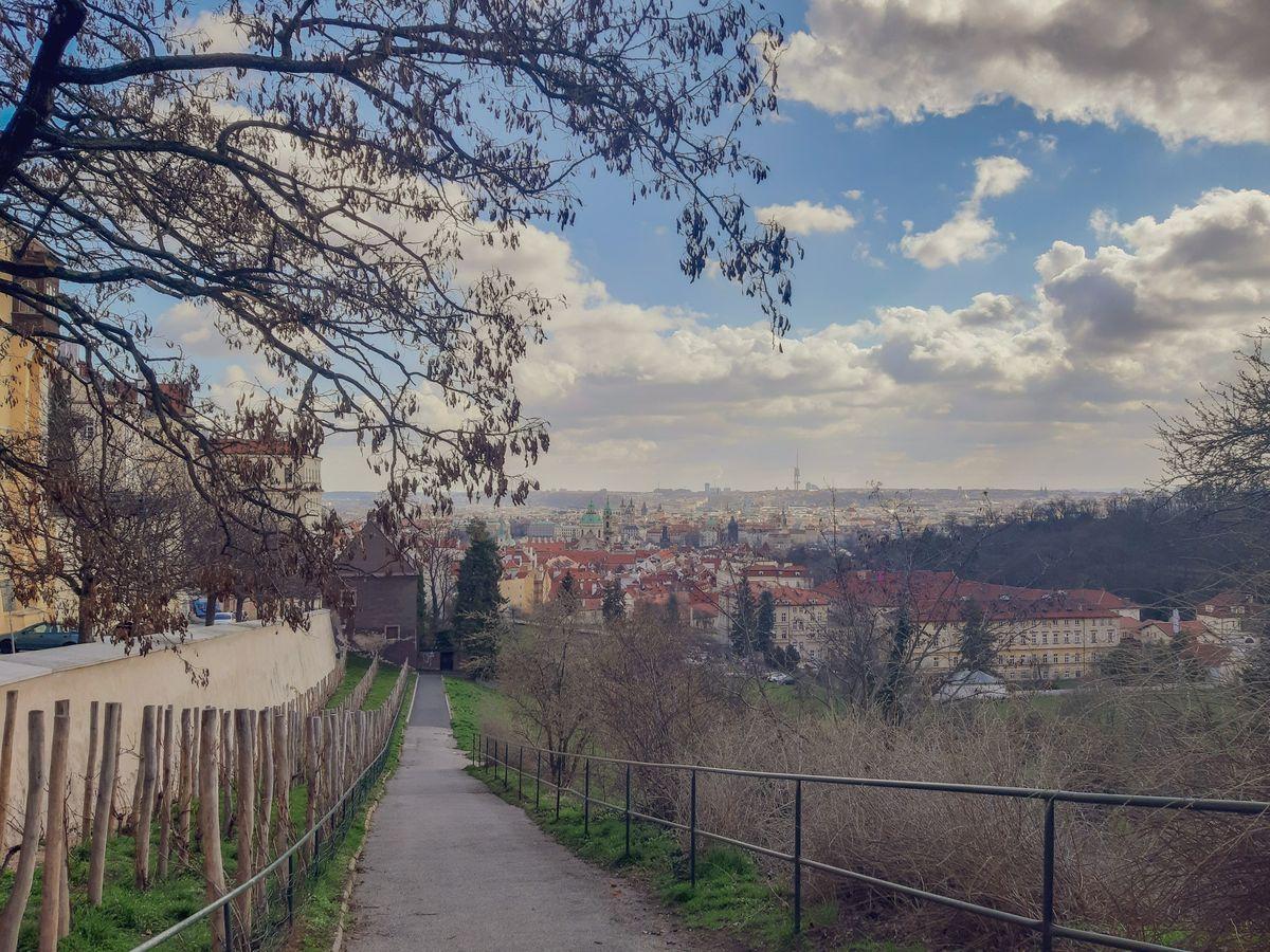 Живописные виды Праги
