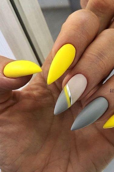 30 hot Summer Nail Color Ideas