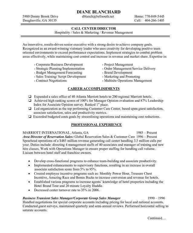 Sample Hospitality Resume Hospitality Resume Sample Writing Guide