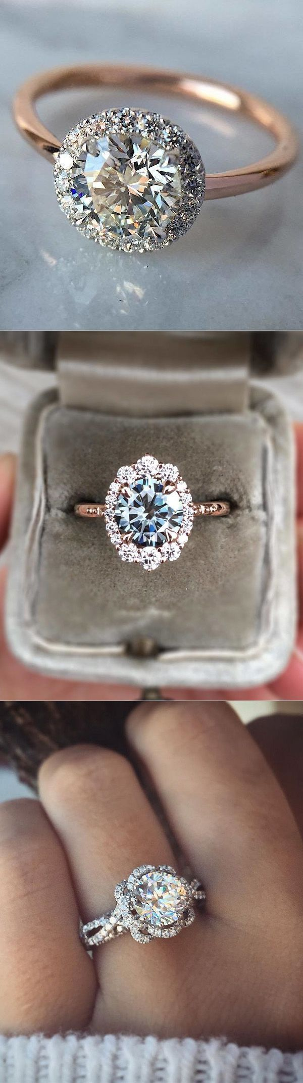 Swooning off These Dazzling Engagement Rings