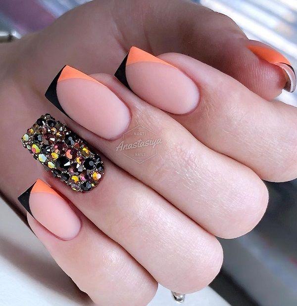 45 Multicolored Nail Art Ideas