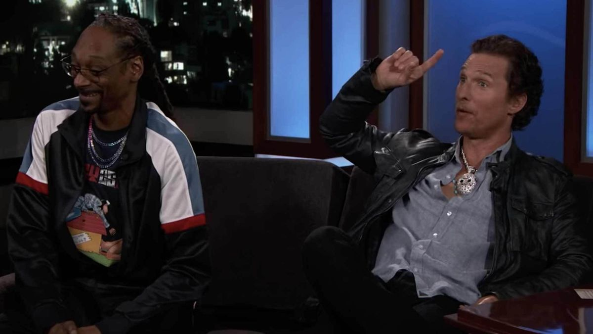 Matthew McConaughey And Snoop Dogg Talk Getting High Together