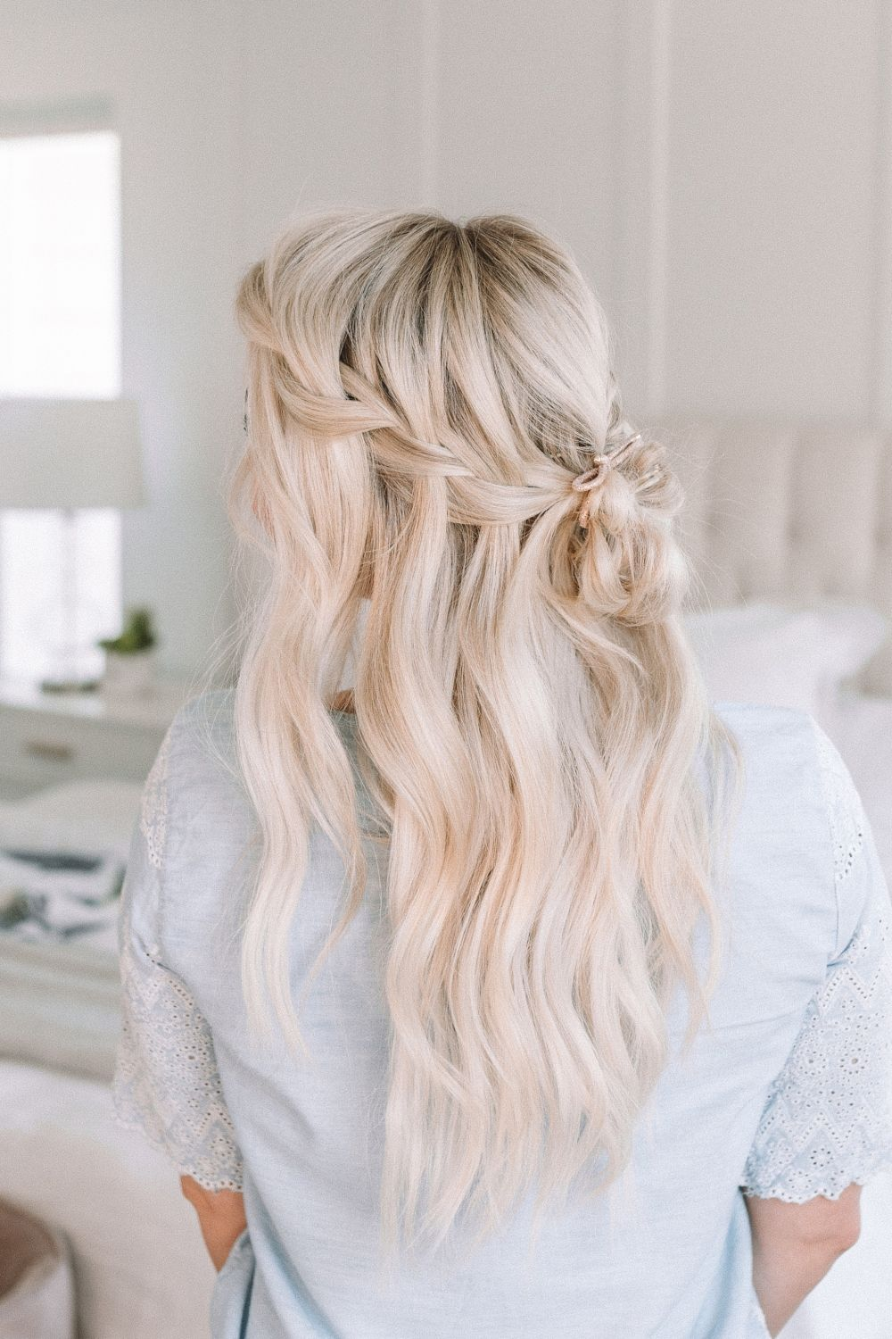 I'm super pumped for this week because it's alllllll about the waterfall braid. Honestly I haven't done a waterfall braid in ages so filming these videos was so fun for me! #twistmepretty #waterfallbraid #braidtips #howtobraid #hairstyle #hairtips #learnhowtobraid