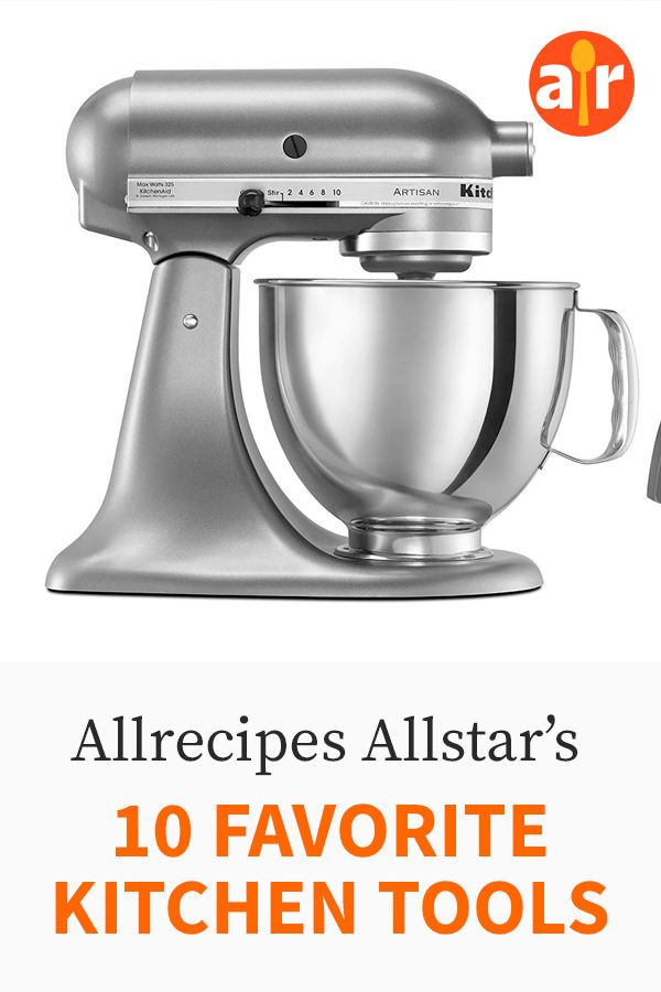Our Allstars Dish on Their 10 Favorite Kitchen Tools