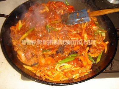 Korean Spicy Beef Bulgogi (nice marinade recipe)
