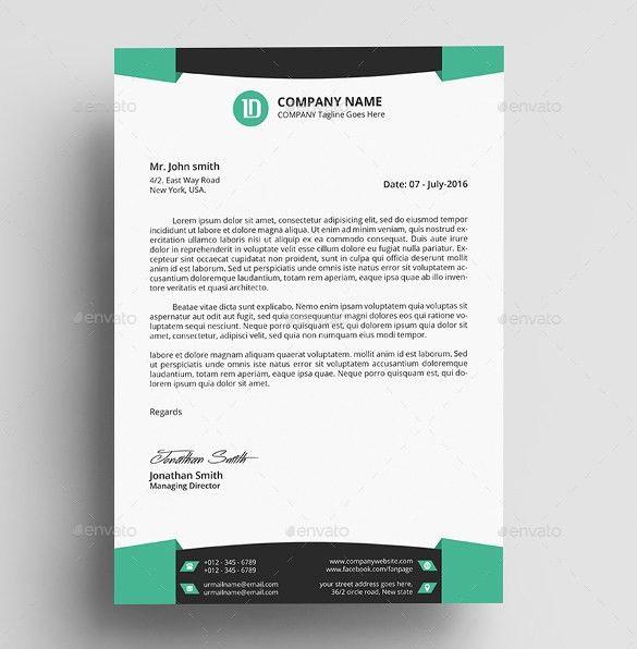 construction company letterhead template – Free Letterhead Sample