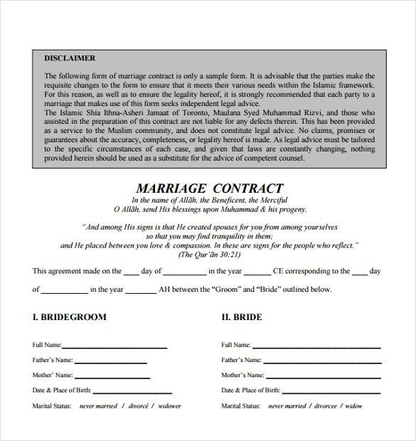 Contract Paper Sample Business Contract Template 10 Free Word Pdf - wedding contract template