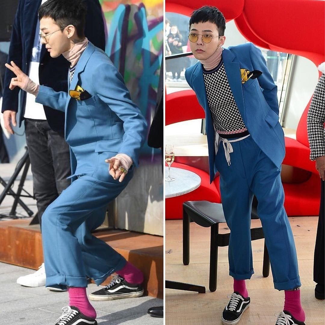 More Pictures of G-Dragon on Infinity Challenge & for 8 Seconds