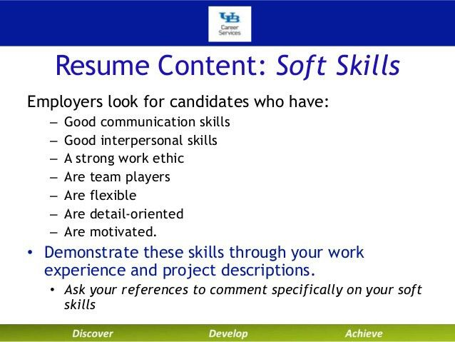 soft skills examples for resume examples of resumes