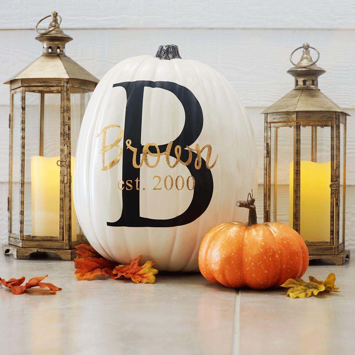 Family Est. Craft Pumpkin
